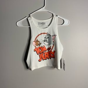 Tom and jerry crop top